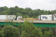 3 Tractor Trailer Accident, Mile Marker 126, Interstate 81, 7-30-2015 (9)