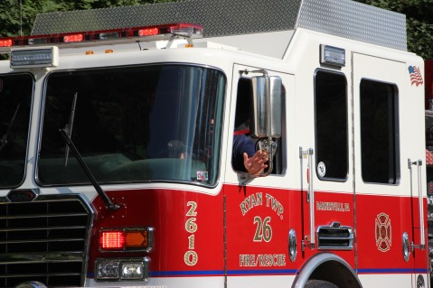 Apparatus Parade via Tuscarora Fire Company, Tuscarora, 7-25-2015 (209)