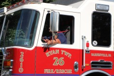 Apparatus Parade via Tuscarora Fire Company, Tuscarora, 7-25-2015 (211)