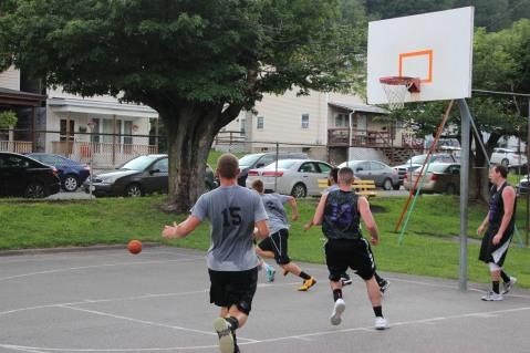 ESRC Summer Basketball League Semi Finals, North Middle Ward Playground, Park, Tamaqua, 7-21-2015 (1)