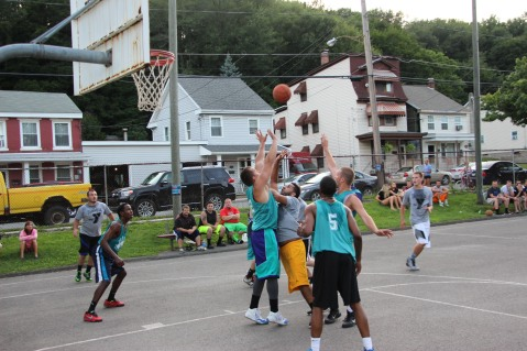 Summer ESRC Basketball Finals, North and Middle Ward Playground, Tamaqua, 7-22-2015 (10)