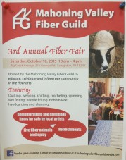 10-10-2015, 3rd Annual Fiber Fair, Big Creek Grange, Lehighton