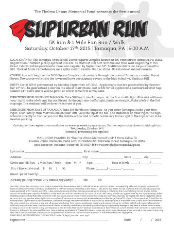 10-17-2015, SubUrban 5K Run, 1 Mile Fun Run and Walk, TASD Sports Stadium and Through Tamaqua-page-001