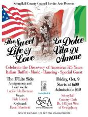 10-9-2015, The Sweet Life of Love, The D'Lite Side, Schuylkill Country Club, Orwigsburg