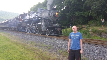 1928 Baldwin 425 Steam Engine, from Eric Becker, Train Station, Tamaqua, 8-29-2015 (1)