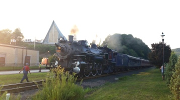 1928 Baldwin 425 Steam Engine, from Eric Becker, Train Station, Tamaqua, 8-29-2015 (12)