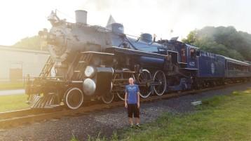 1928 Baldwin 425 Steam Engine, from Eric Becker, Train Station, Tamaqua, 8-29-2015 (24)