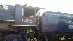 1928 Baldwin 425 Steam Engine, from Eric Becker, Train Station, Tamaqua, 8-29-2015 (27)