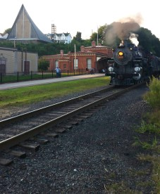 1928 Baldwin 425 Steam Engine, from Eric Becker, Train Station, Tamaqua, 8-29-2015 (30)