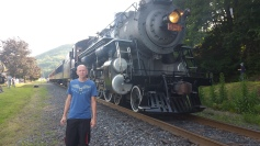 1928 Baldwin 425 Steam Engine, from Eric Becker, Train Station, Tamaqua, 8-29-2015 (5)