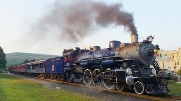 1928 Baldwin 425 Steam Engine, from Eric Becker, Train Station, Tamaqua, 8-29-2015 (64)