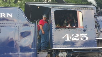 1928 Baldwin 425 Steam Engine, Locomotive, Tamaqua Train Station, Tamaqua (10)