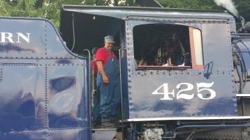 1928 Baldwin 425 Steam Engine, Locomotive, Tamaqua Train Station, Tamaqua (10)