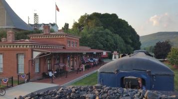 1928 Baldwin 425 Steam Engine, Locomotive, Tamaqua Train Station, Tamaqua (100)