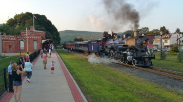 1928 Baldwin 425 Steam Engine, Locomotive, Tamaqua Train Station, Tamaqua (107)