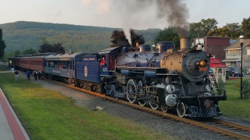 1928 Baldwin 425 Steam Engine, Locomotive, Tamaqua Train Station, Tamaqua (110)