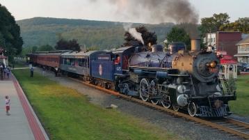 1928 Baldwin 425 Steam Engine, Locomotive, Tamaqua Train Station, Tamaqua (113)