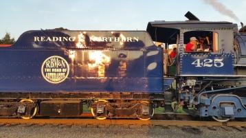 1928 Baldwin 425 Steam Engine, Locomotive, Tamaqua Train Station, Tamaqua (120)