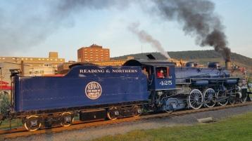 1928 Baldwin 425 Steam Engine, Locomotive, Tamaqua Train Station, Tamaqua (135)