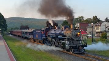 1928 Baldwin 425 Steam Engine, Locomotive, Tamaqua Train Station, Tamaqua (136)