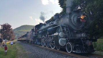 1928 Baldwin 425 Steam Engine, Locomotive, Tamaqua Train Station, Tamaqua (14)