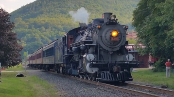 1928 Baldwin 425 Steam Engine, Locomotive, Tamaqua Train Station, Tamaqua (35)