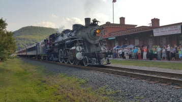 1928 Baldwin 425 Steam Engine, Locomotive, Tamaqua Train Station, Tamaqua (37)