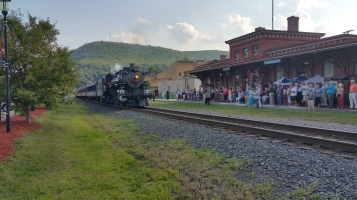 1928 Baldwin 425 Steam Engine, Locomotive, Tamaqua Train Station, Tamaqua (40)