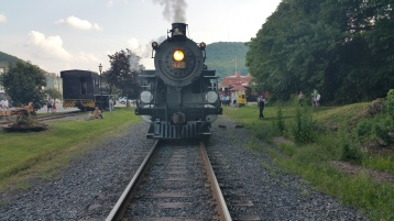 1928 Baldwin 425 Steam Engine, Locomotive, Tamaqua Train Station, Tamaqua (5)