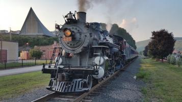 1928 Baldwin 425 Steam Engine, Locomotive, Tamaqua Train Station, Tamaqua (73)