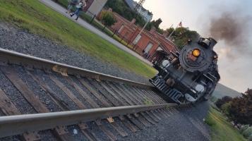 1928 Baldwin 425 Steam Engine, Locomotive, Tamaqua Train Station, Tamaqua (75)