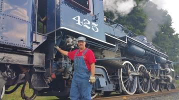1928 Baldwin 425 Steam Engine, Locomotive, Tamaqua Train Station, Tamaqua (9)
