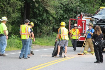 4 People Injured, MVA, Clamtown Road, SR443, West Penn, 8-12-2015 (11)
