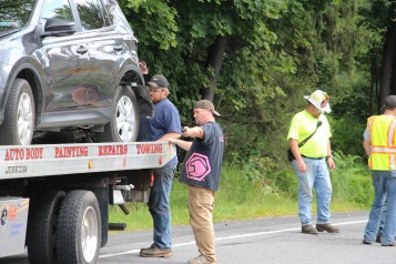 4 People Injured, MVA, Clamtown Road, SR443, West Penn, 8-12-2015 (12)