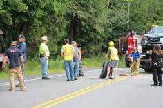 4 People Injured, MVA, Clamtown Road, SR443, West Penn, 8-12-2015 (4)