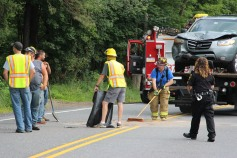 4 People Injured, MVA, Clamtown Road, SR443, West Penn, 8-12-2015 (5)