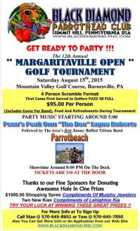 8-15-2015, 12th Annual Margaritaville Golf Tournament, Mountain Valley Golf Course, Barnesville