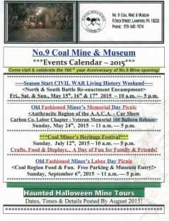 9-6-2015, Festival, Picnic, Events, No. 9 Mine and Museum, Lansford