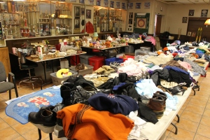ACS Rummage Sale, East End Fire Company, Tamaqua, 8-1-2015 (3)