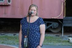 Amanda & Me perform, as part of Chamber Summer Concert Series, Train Station, Tamaqua (10)