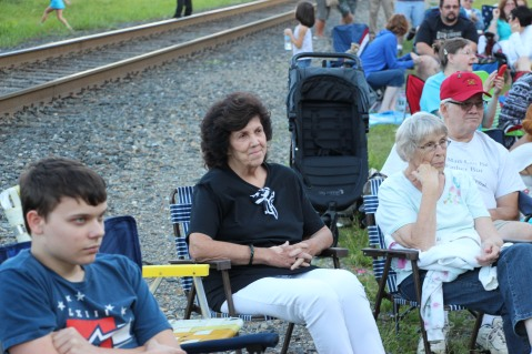 Amanda & Me perform, as part of Chamber Summer Concert Series, Train Station, Tamaqua (26)