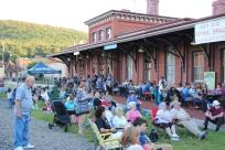 Amanda & Me perform, as part of Chamber Summer Concert Series, Train Station, Tamaqua (44)