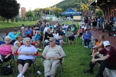 Amanda & Me perform, as part of Chamber Summer Concert Series, Train Station, Tamaqua (57)