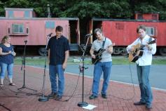 Amanda & Me perform, as part of Chamber Summer Concert Series, Train Station, Tamaqua (58)
