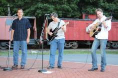 Amanda & Me perform, as part of Chamber Summer Concert Series, Train Station, Tamaqua (59)