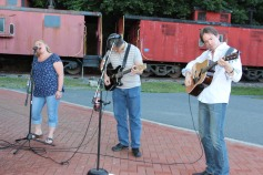 Amanda & Me perform, as part of Chamber Summer Concert Series, Train Station, Tamaqua (6)