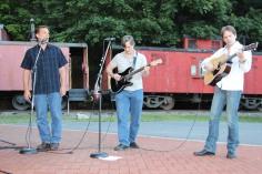Amanda & Me perform, as part of Chamber Summer Concert Series, Train Station, Tamaqua (65)