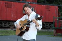 Amanda & Me perform, as part of Chamber Summer Concert Series, Train Station, Tamaqua (7)