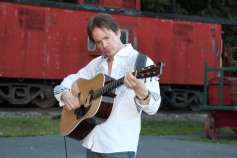 Amanda & Me perform, as part of Chamber Summer Concert Series, Train Station, Tamaqua (7)