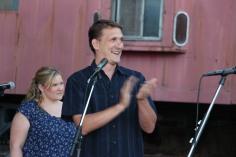 Amanda & Me perform, as part of Chamber Summer Concert Series, Train Station, Tamaqua (77)